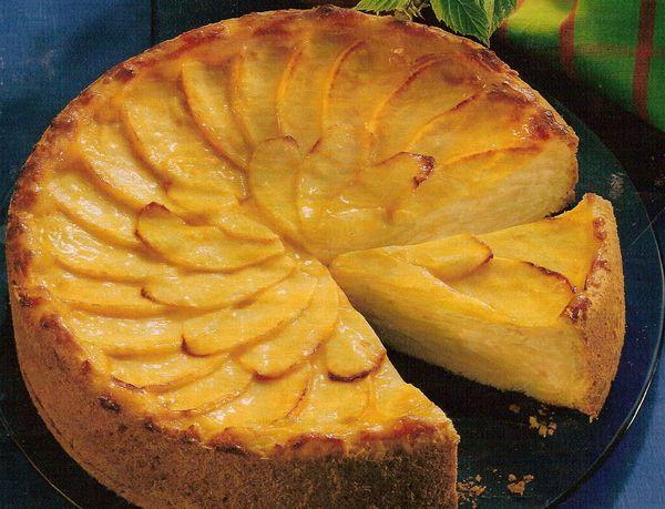 Рецепты тортов простые с яблоками фото