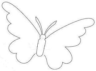 Летний топиарий из бабочек