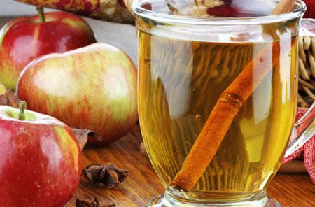 Яблочный чай с корицей для похудения