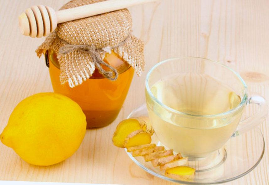 Чай с имбирем, лимоном и медом для похудения