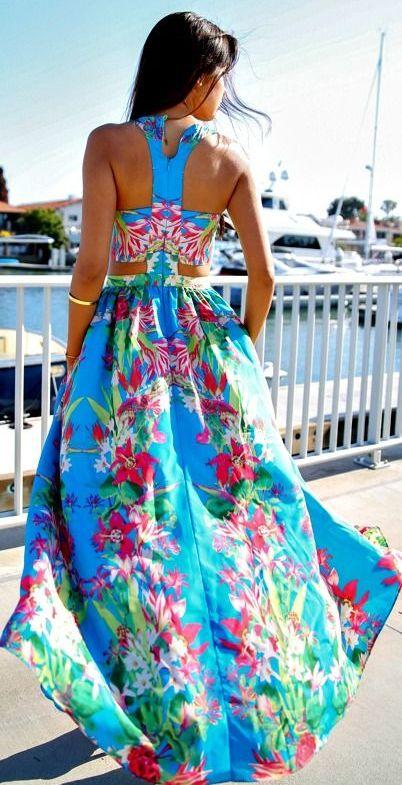 летние платья мода