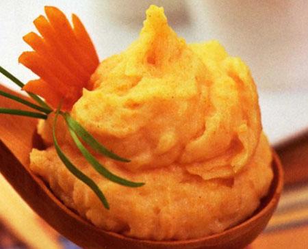 Картофельное пюре с морковью рецепт