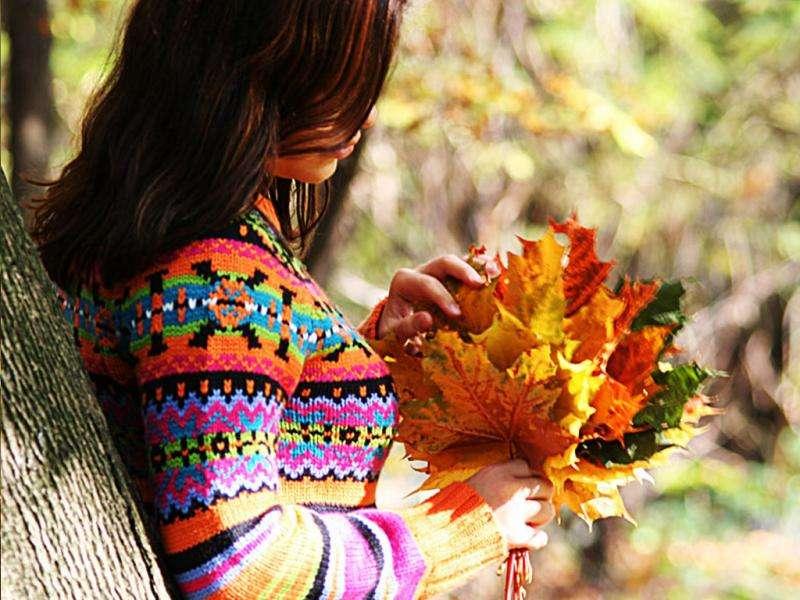 американском фото с листьями на аву знаете вы