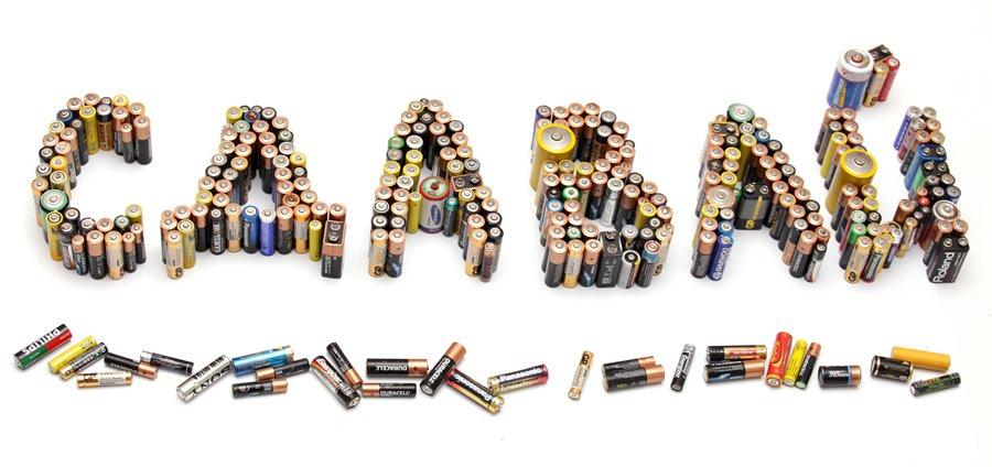 Батарейки и аккумуляторы необходимо сдавать на утилизацию