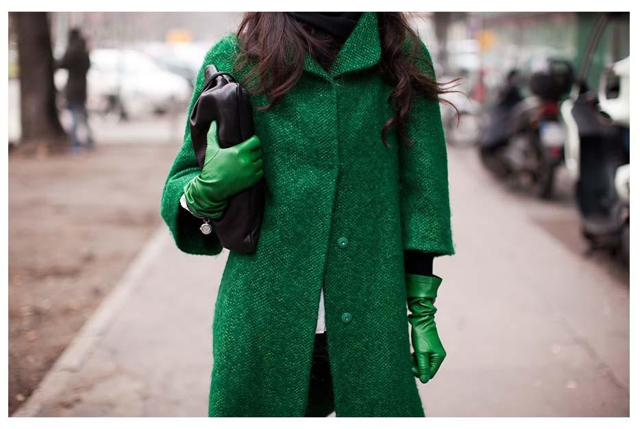 Малиновое пальто: с чем носить рекомендации