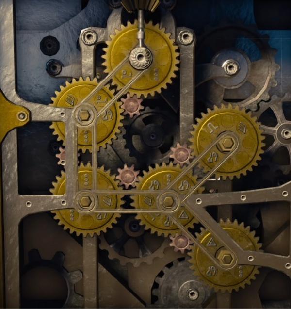 Решение головоломки с шестернями