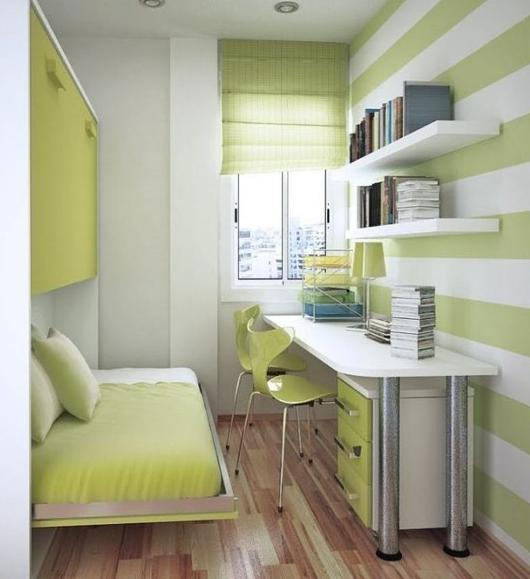 как оформить узкую комнату - основные приемы