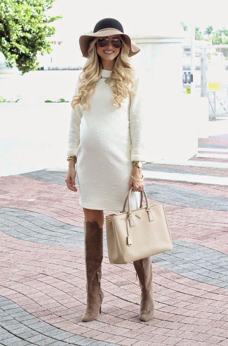 модные платья для беременных 2016