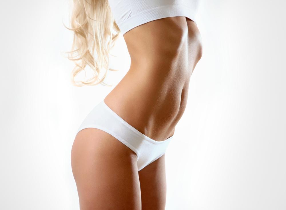 как убрать жир живота пленкой