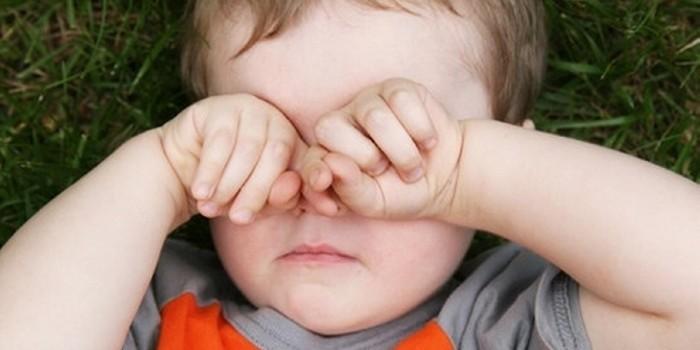 у ребенка продуло глаз что делать