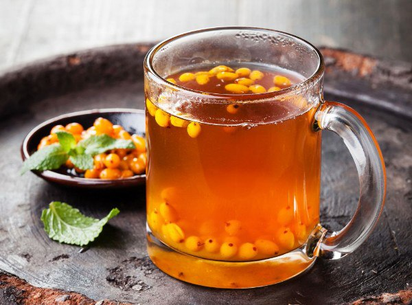 чай с облепихой рецепт в френч