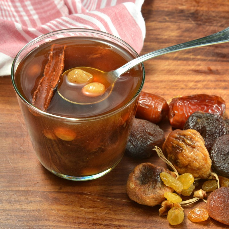 How to cook compote of dried fruits how to cook stewed ...