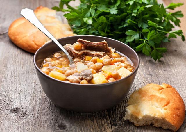 рецепт горохового супа без картофеля