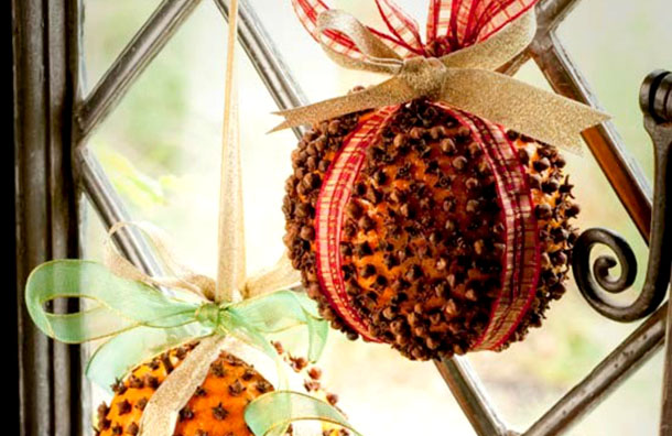 ароматный новогодний шар