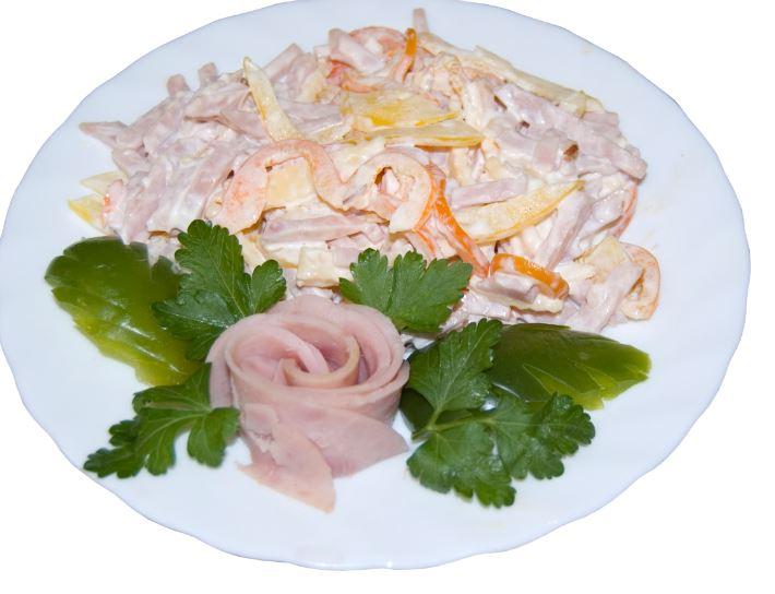 Салат быстрый вкусный