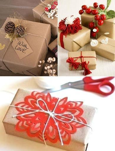 Как красиво упаковать новогодний подарок без особых затрат - простые идеи