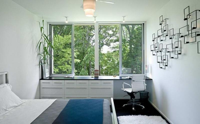 подоконник в современной квартире: подоконник-стол, подоконник-шкаф, подоконник-диван