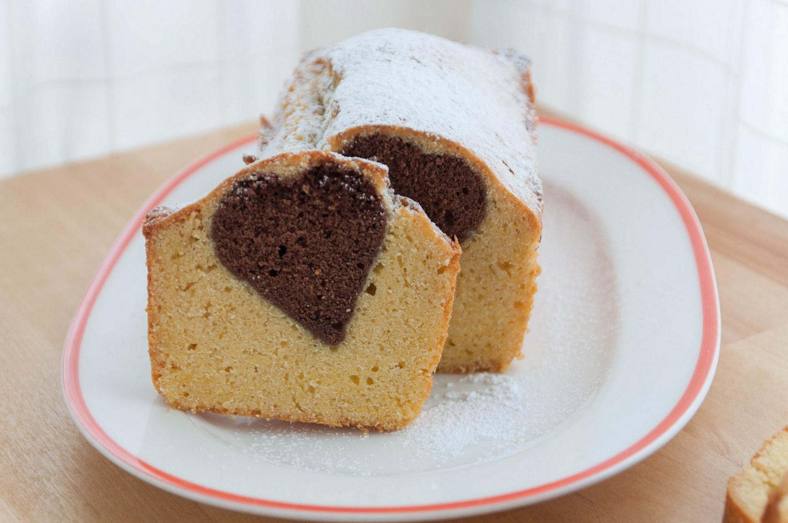 кекс с сердцем внутри рецепт с фото