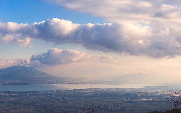 Альпы упираются в небо