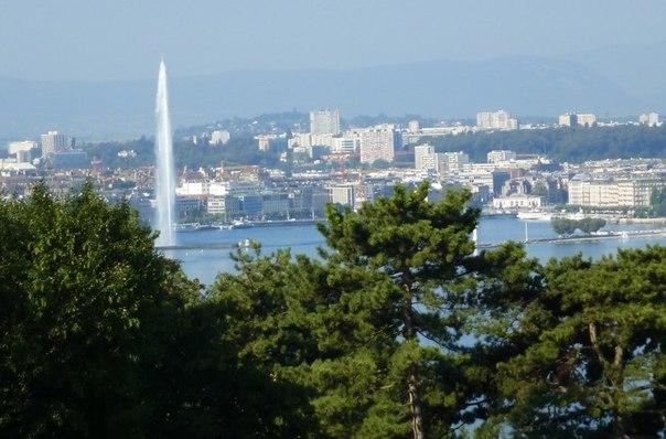 Женева - красивейший город Швейцарии