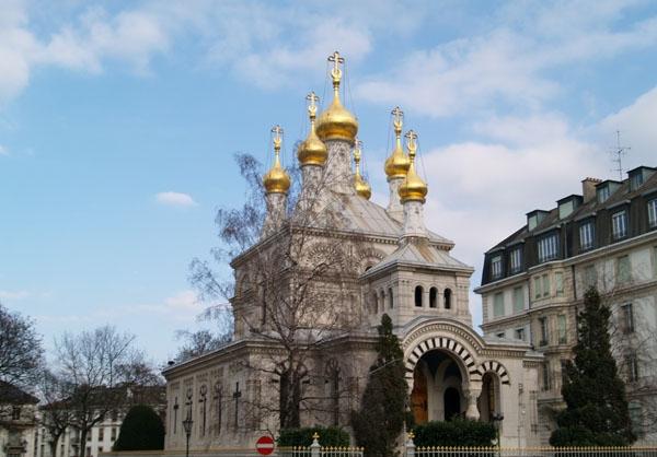 Величественные храмы есть в каждом городе
