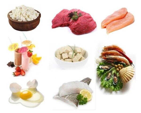белковая еда для похудения меню