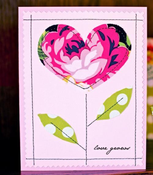 Открытки из бумаги на день валентина простые, тебя люблю обожаю