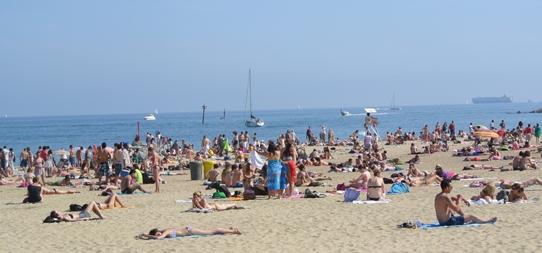 Отдых на испанских пляжах
