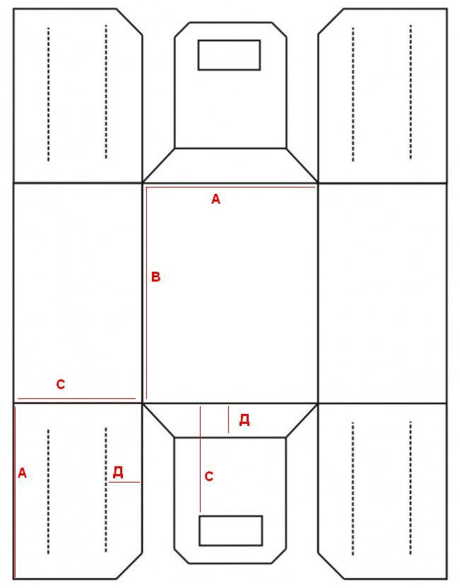 Как сделать многофункциональную корзину из фетра