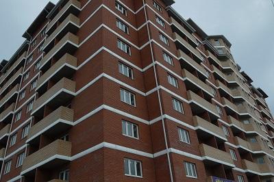 Один из жилых комплексов Краснодара
