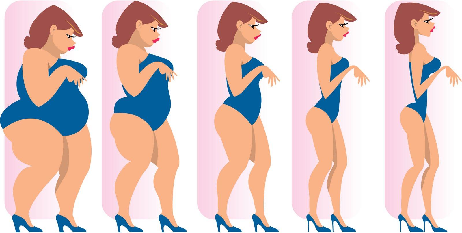 Сбросить вес легко без диет