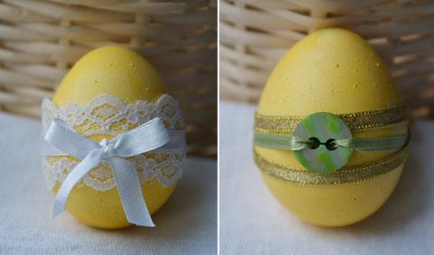 Три простых способа украсить пасхальные яйца