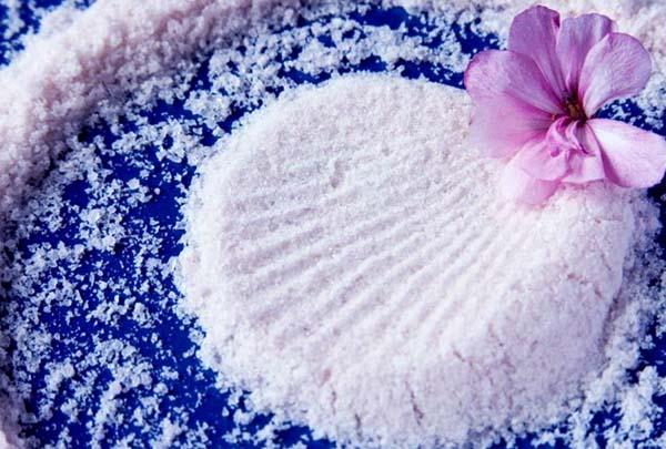 Как предпочесть соль для ванн