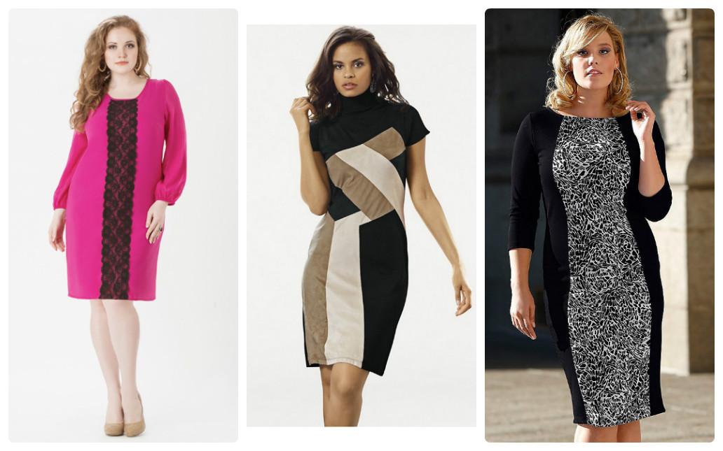 как выбрать платье полной