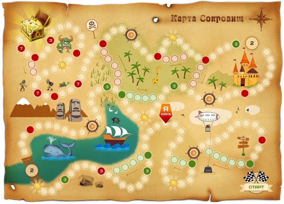 Картинки игры карта пирата