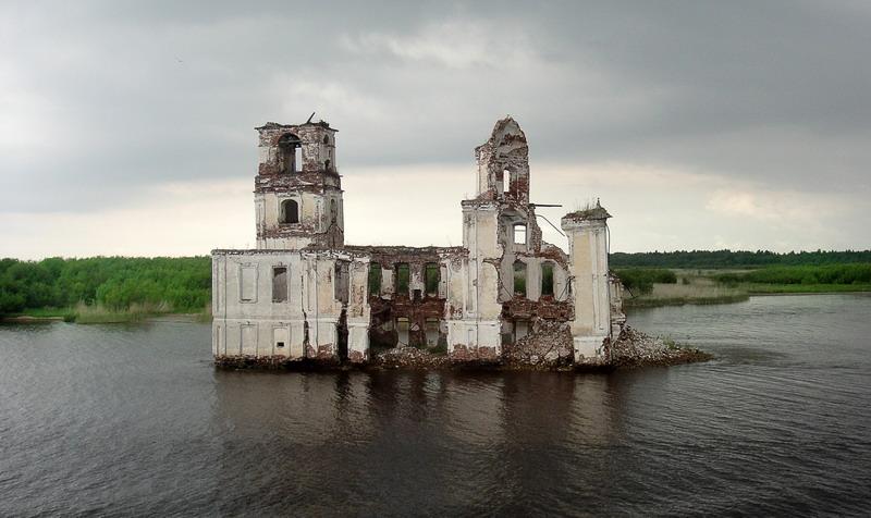 благопристойным видом молога затопленный город фото под водой сейчас его