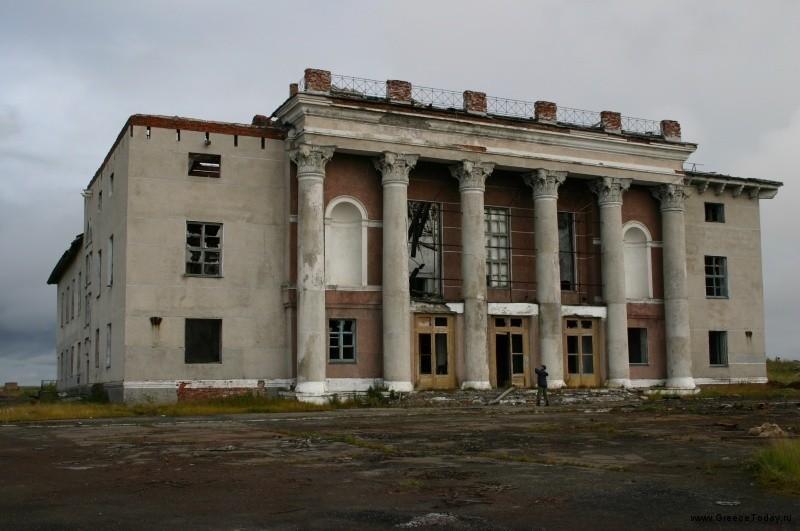 Город призрак Промышленный (Коми)