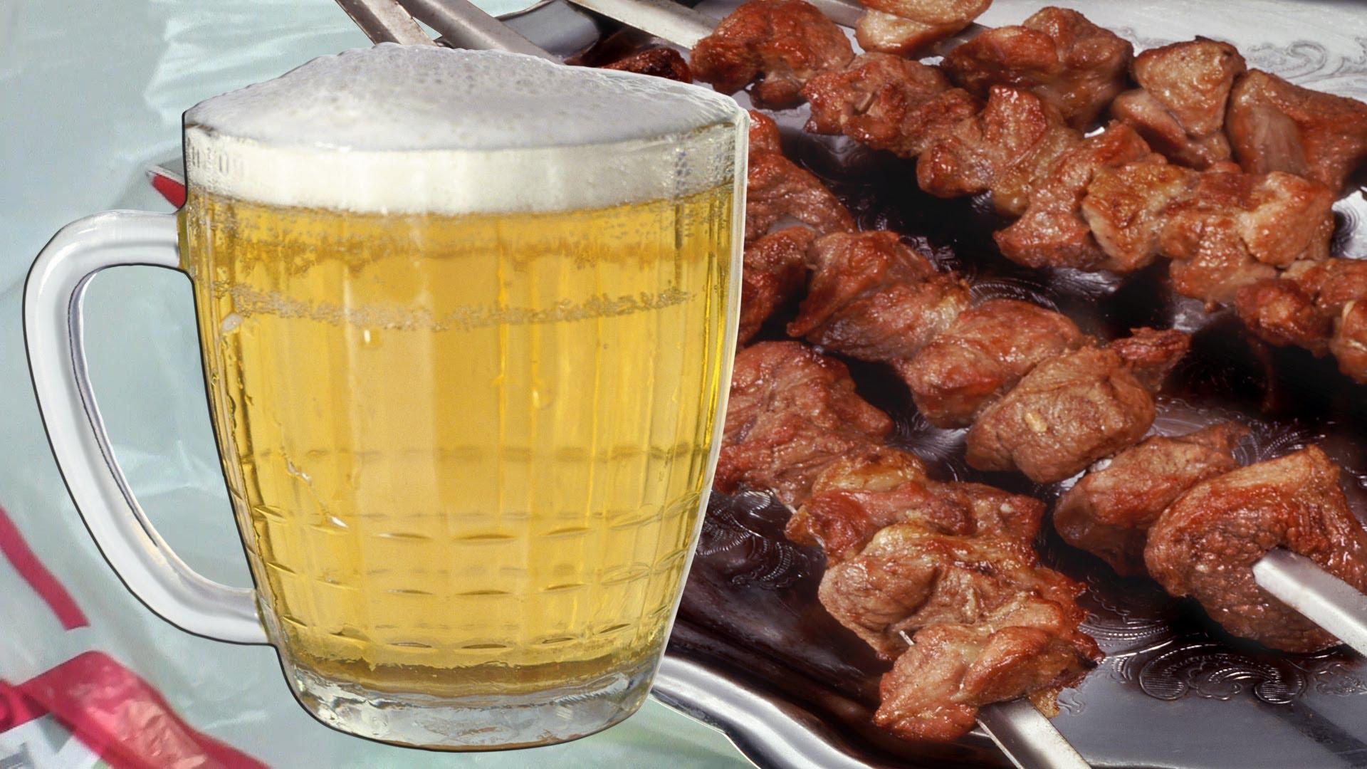 маринад для шашлыка с пивом