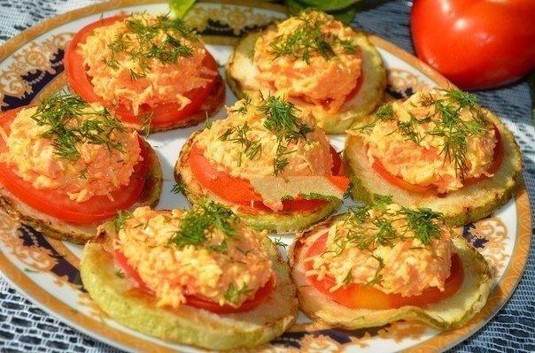 Рецепты праздничных блюд из кабачков