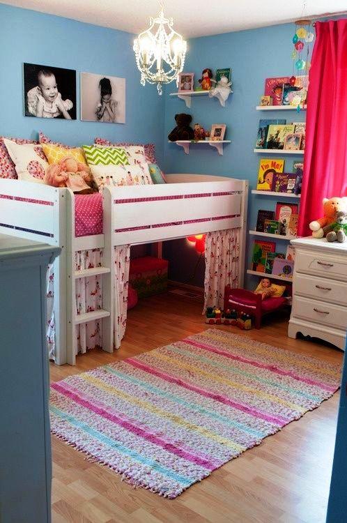 что нужно в детской комнате девочки