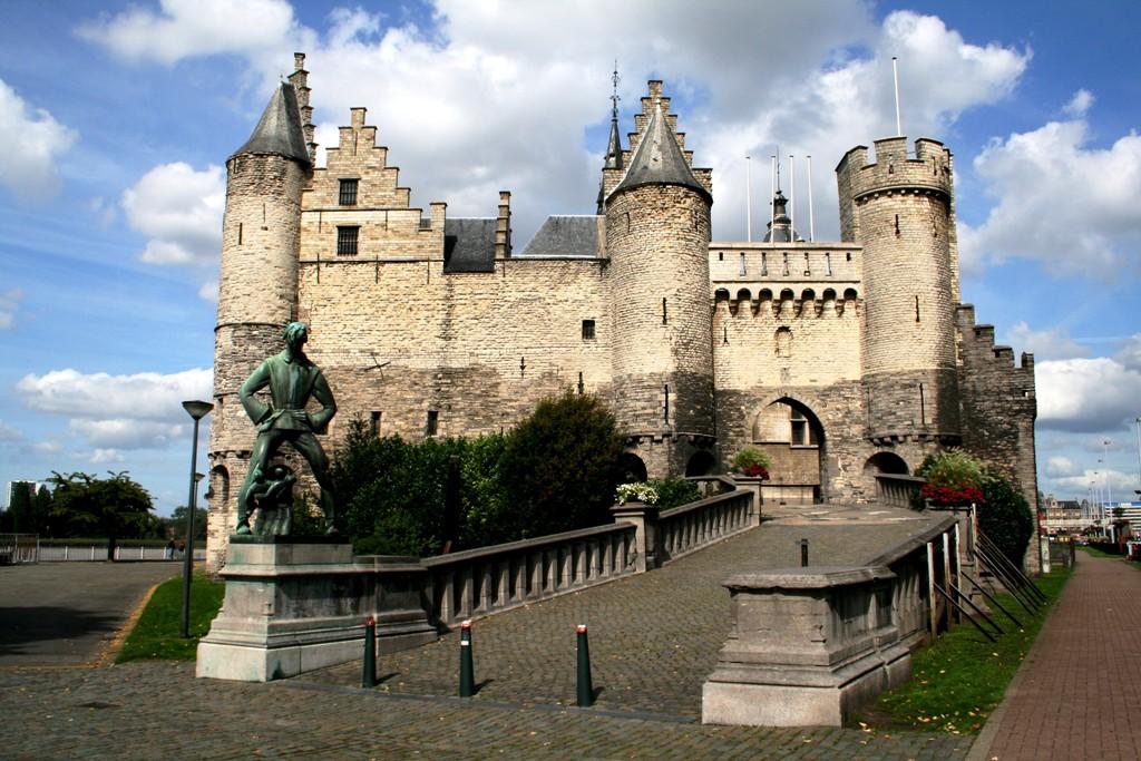 антверпен замок стен фото