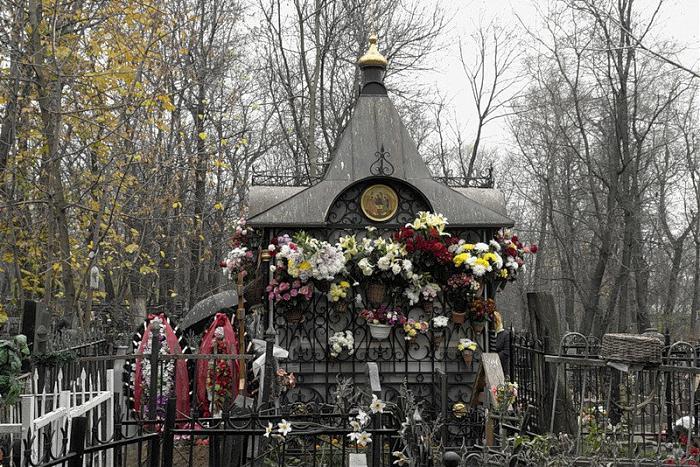 могила Матроны Московской