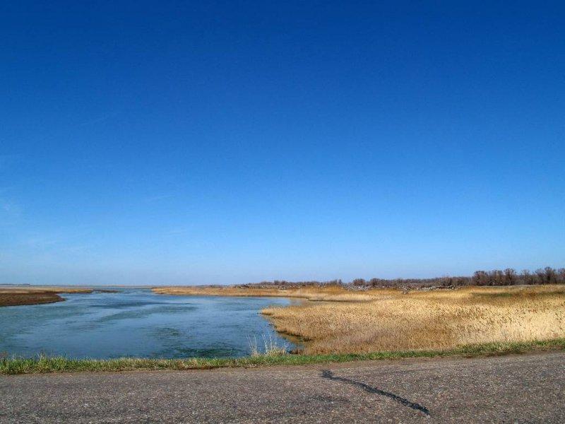 место силы России Кулундинское озеро