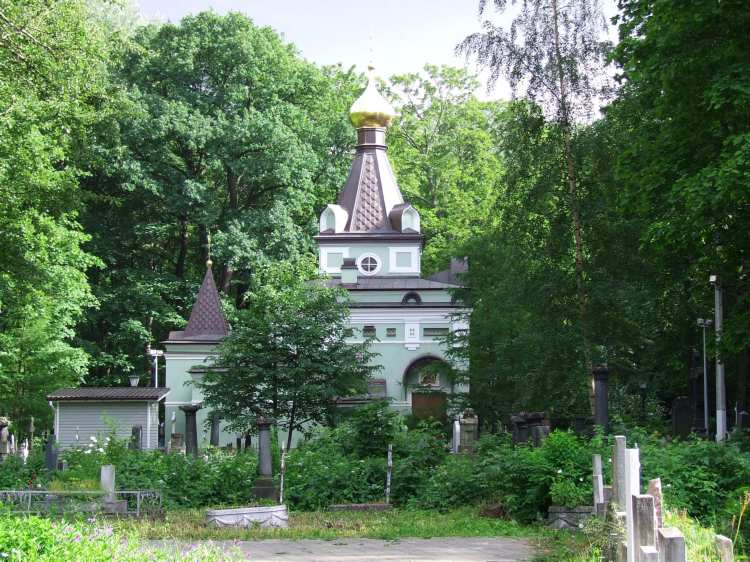 место силы - часовня Ксении Петербургской