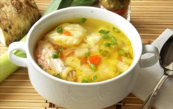 самый простой рецепт галушек в суп