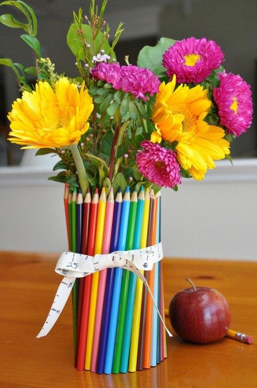 Цветы на день учителя своими руками, доставка цветов