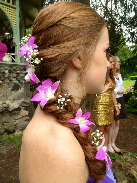 hairstyle for long hair for a girl