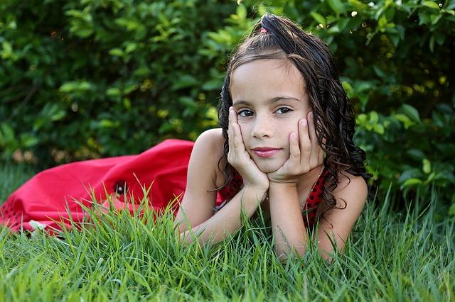 прическа конский хвостик для девочки