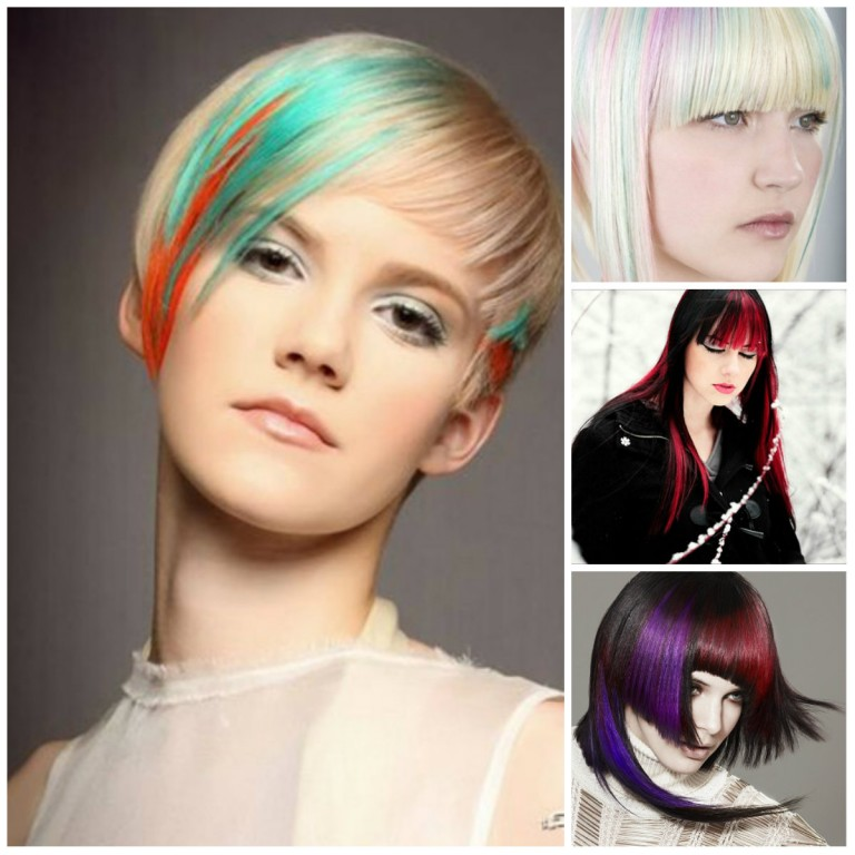 Окраска волос на коротких волосах модные тенденции