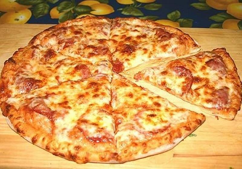 Пицца своими руками с